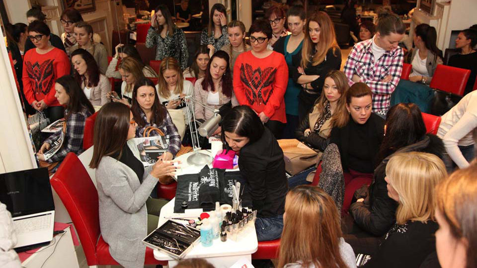 Presentation Nail Perfect, Italwax & City Color in Kraljevo - March 2016