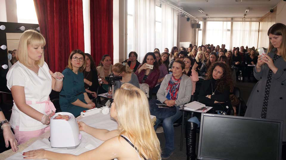 Presentation Nail Perfect, Italwax & City Color in Niš - March 2016