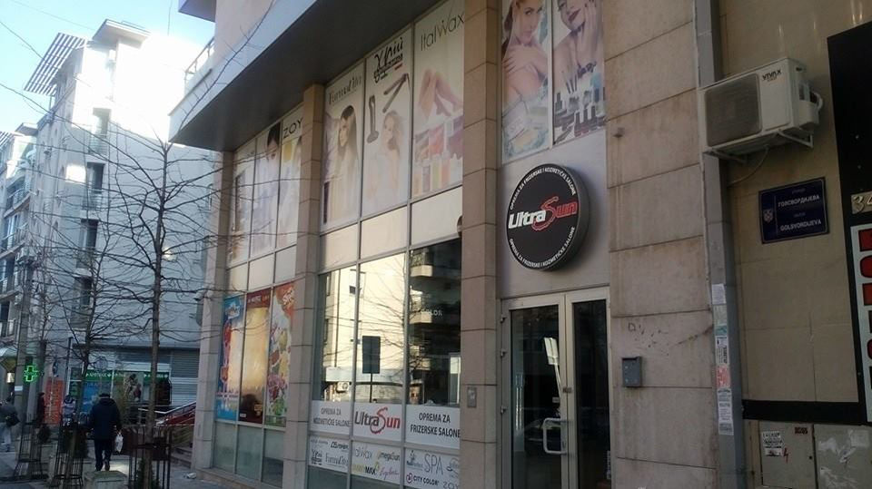 New UltraSun retail store in Belgrade