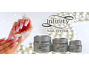 Infinity Nail System sculpting gels