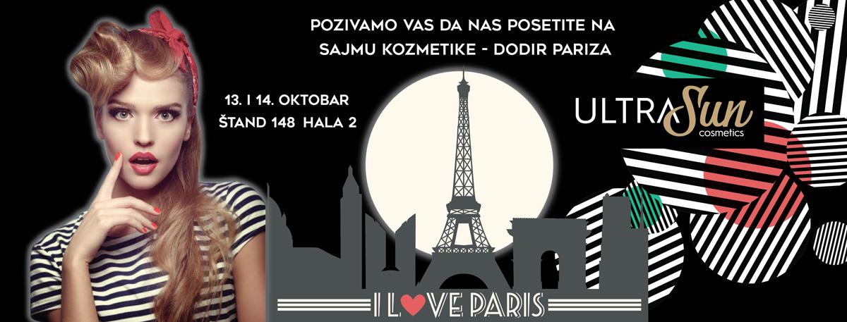 UltraSun na Sajmu kozmetke Dodir Pariza