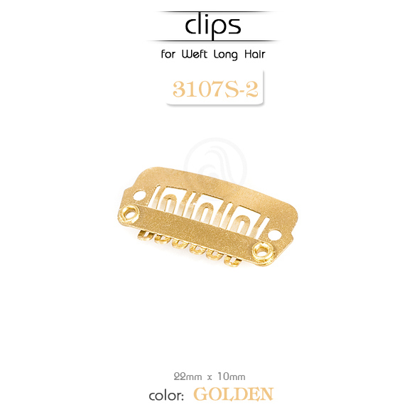 Klipse za Hair Extension S gold