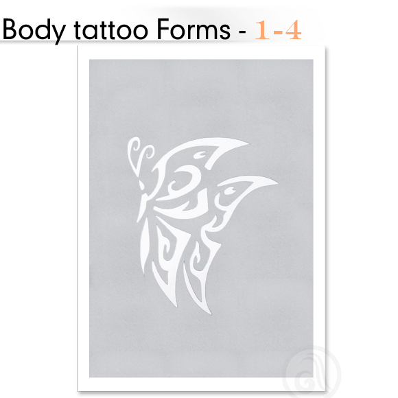 Šabloni za Body Tattoo