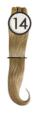 WEFT Hair with Clips 40/45cm-14