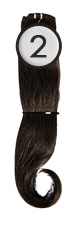 WEFT Hair with Clips 40/45cm-2