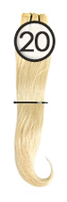WEFT Hair with Clips 40/45cm-20