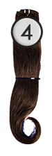 WEFT Hair with Clips 40/45cm-4
