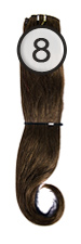 WEFT Hair with Clips 40/45cm-8