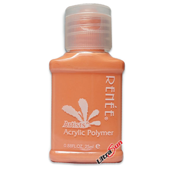 Acrylic Paint 25g Coral Red RYC062