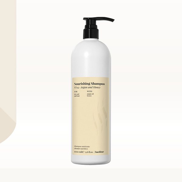 Back Bar Nourishing Shampoo N02 Argan and Honey 1000ml