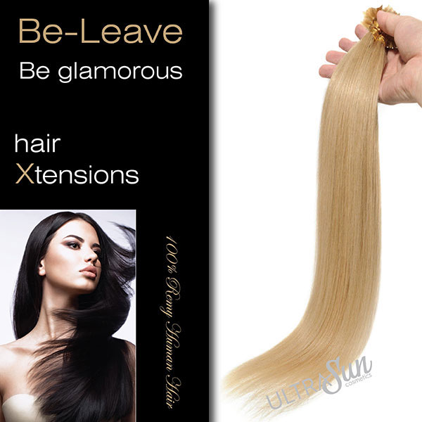 Be-Leave Remy Hair Extension with keratin 55cm-22