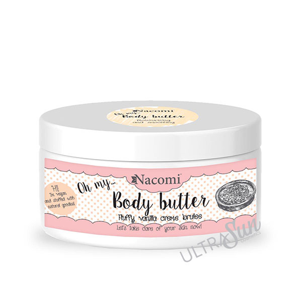 Body Butter Vanilla Crème Brulee 100ml