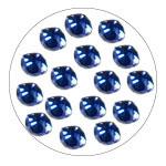 Cirkoni za nokte Bright Blue IA0410