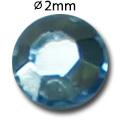 Cirkoni za nokte Flat Back Light Sapphire IAG01-06