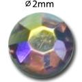 Cirkoni za nokte Flat Back L. Purple AB IAG 01-19