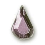 Cirkoni za nokte Drop White IB06-01
