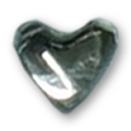Cirkoni za nokte Heart White IB08-01