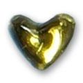 Cirkoni za nokte Heart Golden IB08-02
