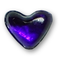 Cirkoni za nokte Heart Purple IB08-06