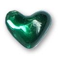Cirkoni za nokte Heart D. Green IB08-08