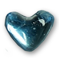 Cirkoni za nokte Heart L. Blue IB08-09