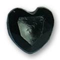Cirkoni za nokte Heart Black IB08-12
