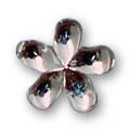 Cirkoni za nokte Flower White IB09-01