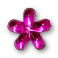 Cirkoni za nokte Flower Rose IB09-04