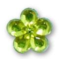 Cirkoni za nokte Flower Green IB09-07