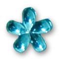 Cirkoni za nokte Flower L. Blue IB09-09