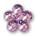 Cirkoni za nokte Flower Pink IB09-15