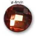 Cirkoni za nokte Round Red IB45-03