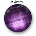 Cirkoni za nokte Round D. Purple IB45-06