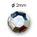 Cirkoni za nokte Semi Ball Silver IB50-11