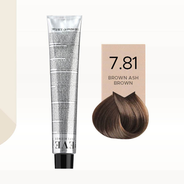 Eve Experience Hair Color 100ml 7.81