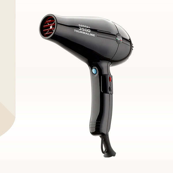 Hair dryer Gammapiu Tormalionic 3500 Black