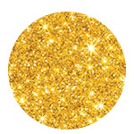 Glitter hair spray golden 125ml