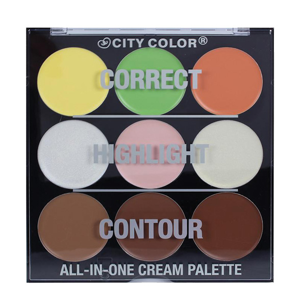 All in One Face Cream Palette 9x2.5g