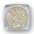 Krljušt za nokte svetlucava bela IN05-01