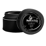 Nail Perfect Color + Gel u boji Black 7g