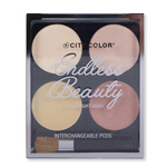 Paleta iluminatora Endless Beauty 4x3.2g