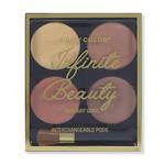 Paleta iluminatora Infinite Beauty 4x3.2g