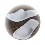 Papirne papuče zatvorenih prstiju