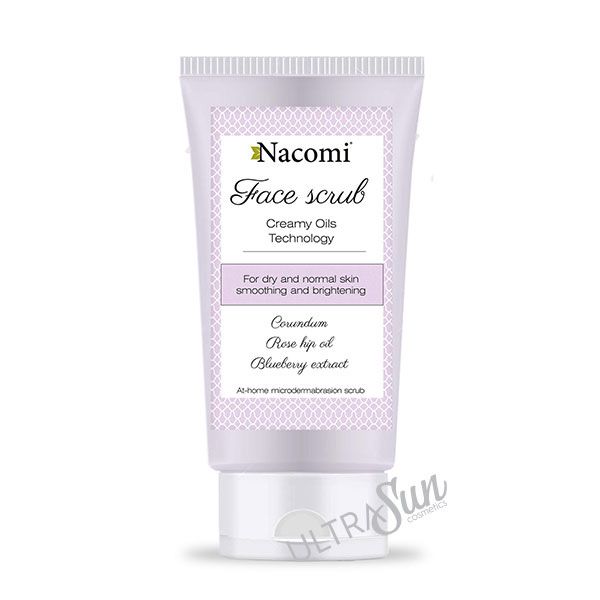 Smoothing Face Scrub for Dry and Normal Skin 85ml
