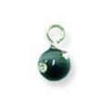 Ukras za nokte Cats Eye Stone Black IEC01-10
