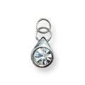 Ukras za nokte Single Diamond Silver IEG01-01
