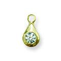 Ukras za nokte Single Diamond Golden IEG01-02