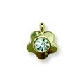 Ukras za nokte Single Diamond Golden IEG05-02