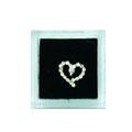 Ukras za nokte Nail Charms Silver IEH02-46