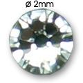 Cirkoni za nokte Flat Back SS5 Crystal IAS01-01
